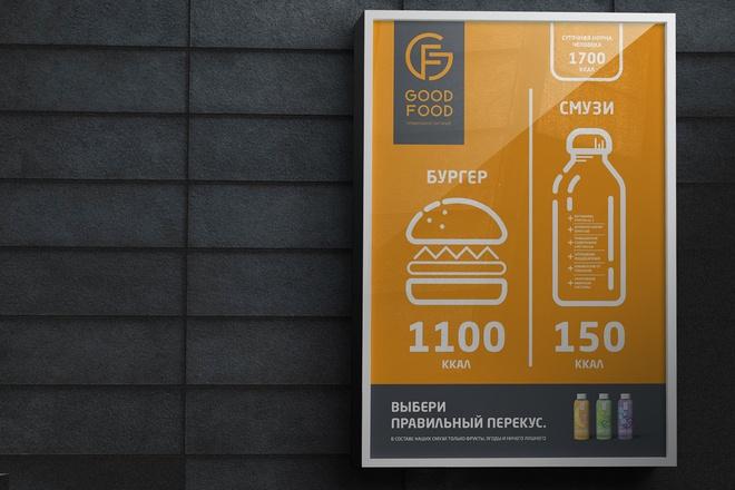 Создание плаката, афиши 8 - kwork.ru