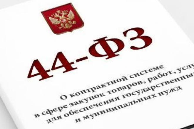 Подготовлю документацию, ТЗ, проекты контрактов, обоснование 44-ФЗ 1 - kwork.ru