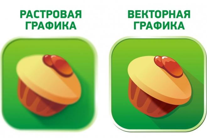 Создание векторных изображений 40 - kwork.ru