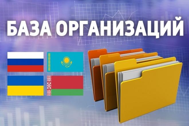 Выгрузка базы организаций 1 - kwork.ru