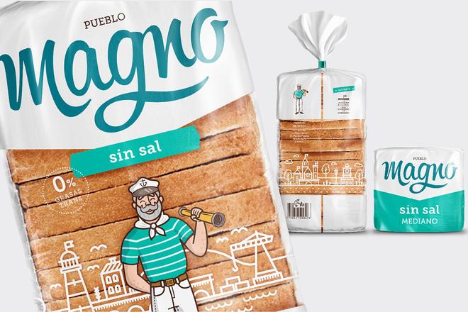 Дизайн упаковки для хлеба, выпечки, тортов, булочек, пирожных 4 - kwork.ru
