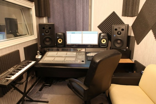 Запишу Ваш музыкальный материал в студии 1 - kwork.ru