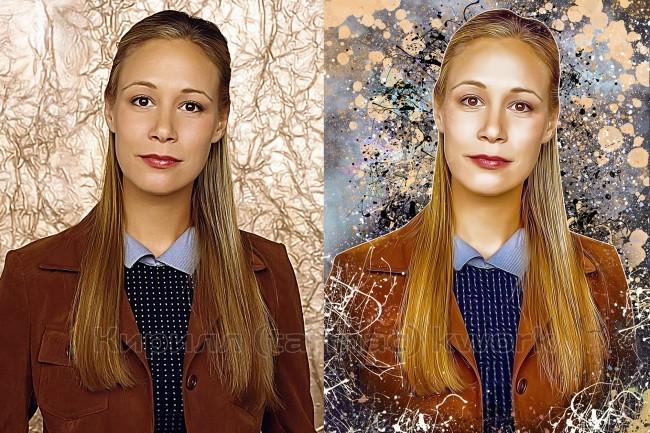 Дрим Арт портрет по фотографии 2 - kwork.ru