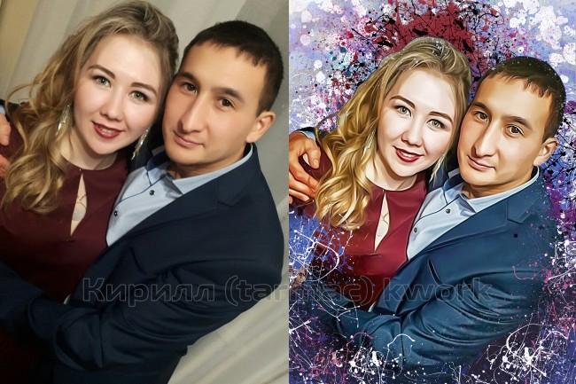 Дрим Арт портрет по фотографии 3 - kwork.ru