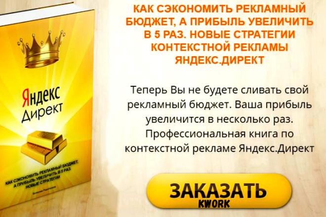 НОВЫЕ стратегии контекстной рекламы Яндекс Директ сэкономят Ваш бюджет 1 - kwork.ru