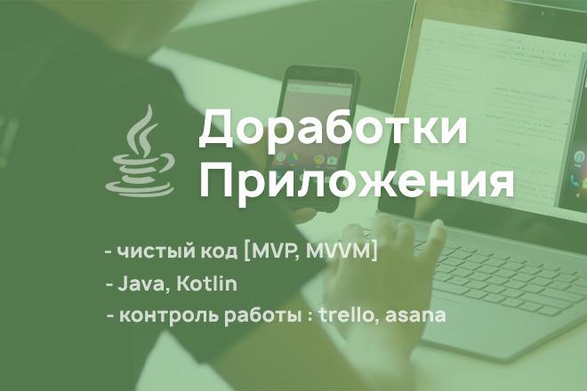 Доработки Приложения 4 - kwork.ru