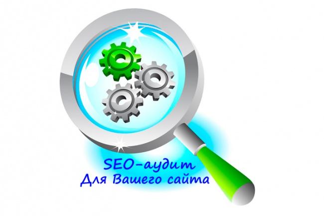 Полноценный SEO аудит Вашего сайта с удобным PDF отчетом 1 - kwork.ru