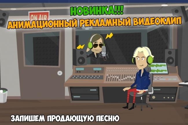 Анимационный рекламный видеоклип. Новинка 5 - kwork.ru
