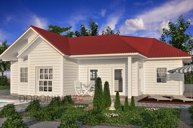 Визуализация домов 6 - kwork.ru