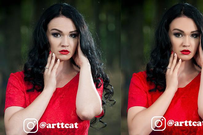 Профессиональная обработка и ретушь фотографий за 24 часа 12 - kwork.ru