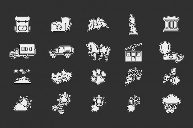 Создание иконок для сайта, приложения 64 - kwork.ru