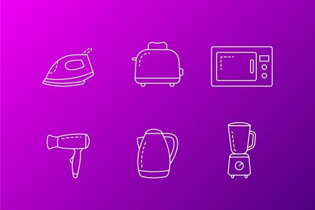 Создание иконок для сайта, приложения 67 - kwork.ru
