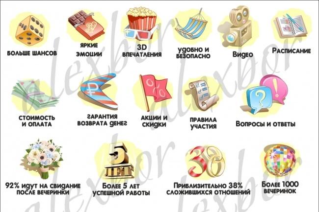 Создание иконки 7 - kwork.ru