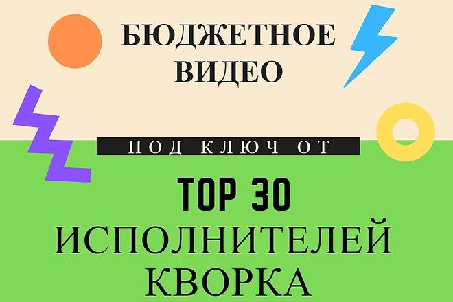 Бюджетное видео для рекламы 2 - kwork.ru
