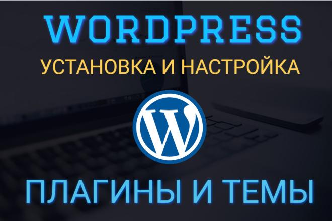 Установка и настройка плагина или темы Wordpress 1 - kwork.ru