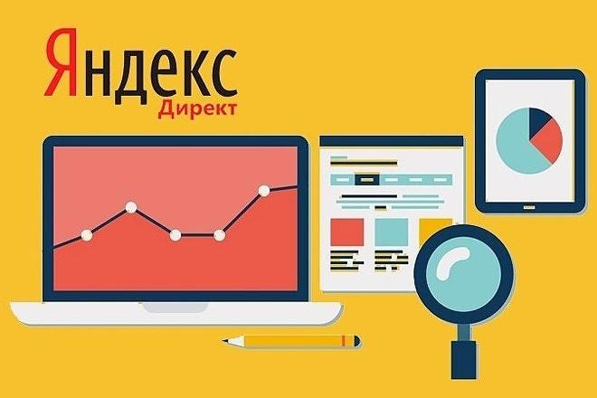 Аудит + Оптимизация Вашей рекламной кампании в Яндекс Директ 1 - kwork.ru