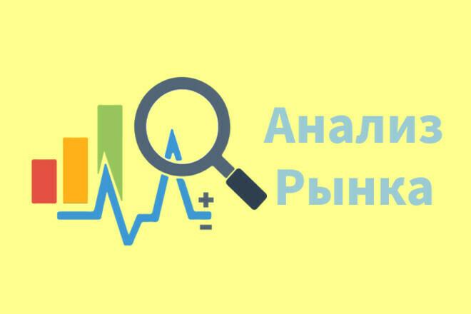 Анализ рынка + концепция для выхода в нишу 1 - kwork.ru