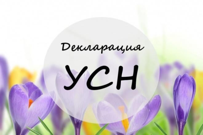 Составлю декларацию по УСН 1 - kwork.ru