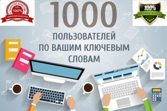 900-1000 посещений на Ваш сайт в течение 10 дней 1 - kwork.ru