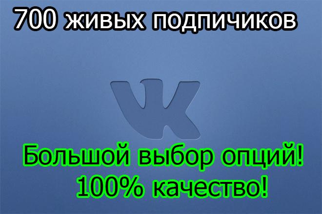 700 подписчиков - друзей Вконтакте на Ваш профиль или в группу 1 - kwork.ru