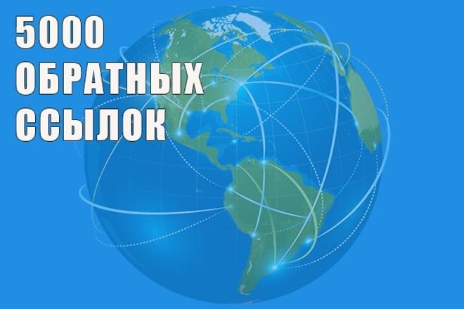 Обратные ссылки. 5000 ссылок на ваш сайт 1 - kwork.ru