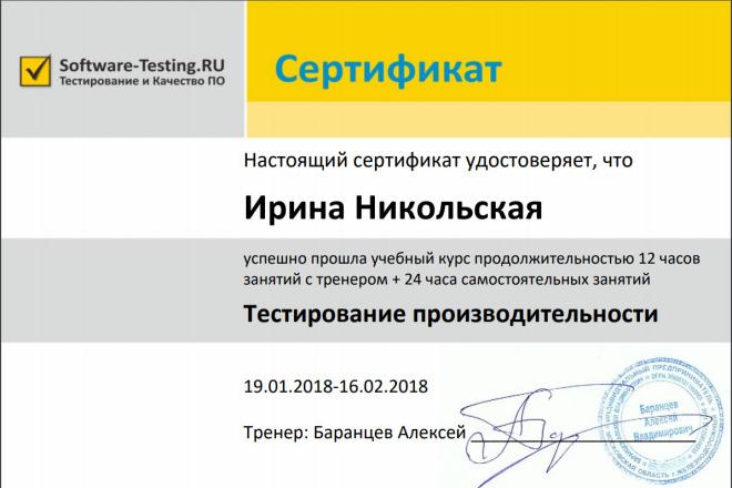 Нагрузочное тестирование вашего сайта 1 - kwork.ru