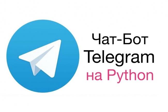 Напишу Telegram бота на Python 1 - kwork.ru