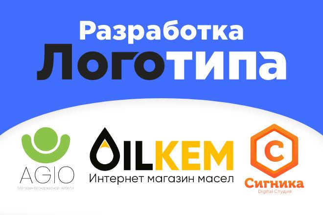 Разработка логотипа с нуля 5 - kwork.ru