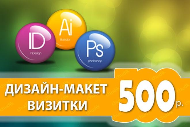 Сделаю дизайн-макет визитной карточки 25 - kwork.ru