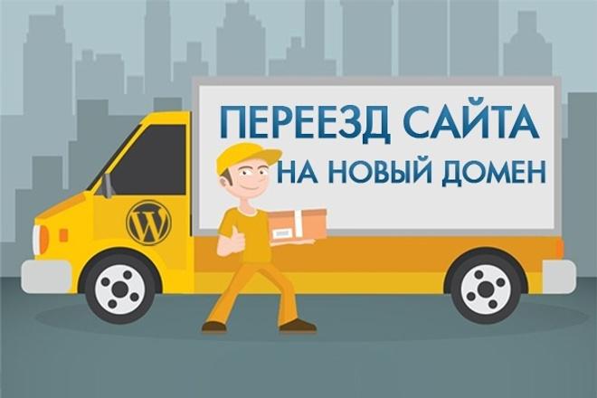 Быстрый и качественный перенос сайта WordPress на новый домен 1 - kwork.ru