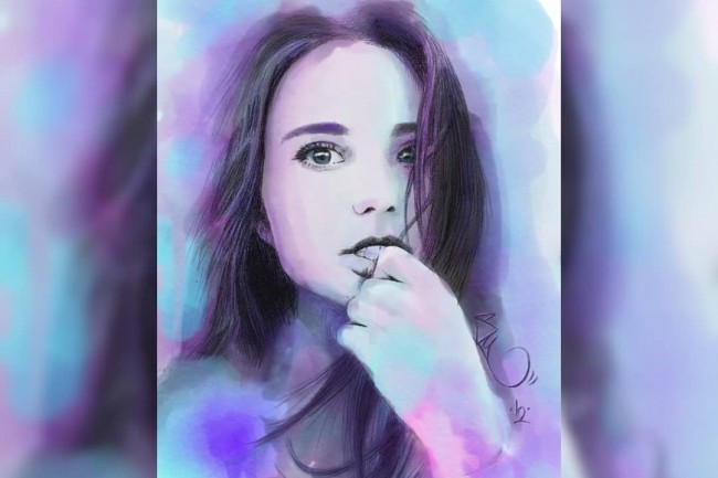 Нарисую ваш портрет в цифровом формате 6 - kwork.ru