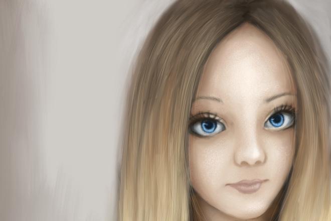 Нарисую ваш портрет в цифровом формате 4 - kwork.ru