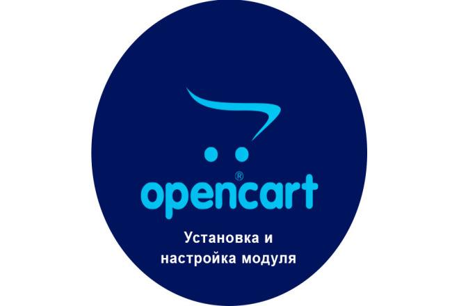 Установка и настройка модуля Opencart, OcStore 1 - kwork.ru