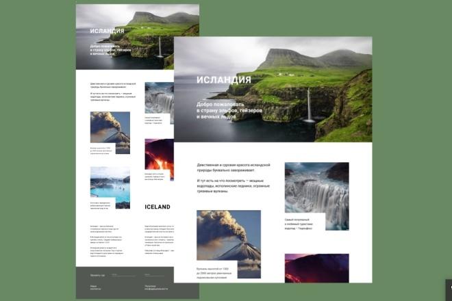 Сайты и лендинги на Tilda 4 - kwork.ru