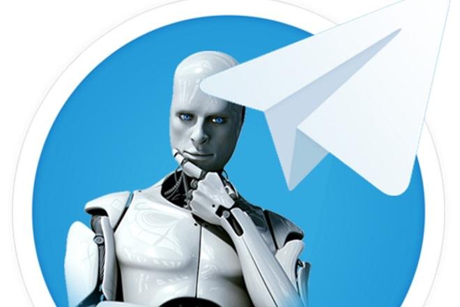 Создам и подключу php бота для telegram 1 - kwork.ru