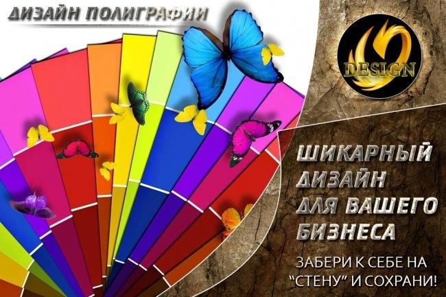 Дизайн Афиша, Плакат, Постер 19 - kwork.ru