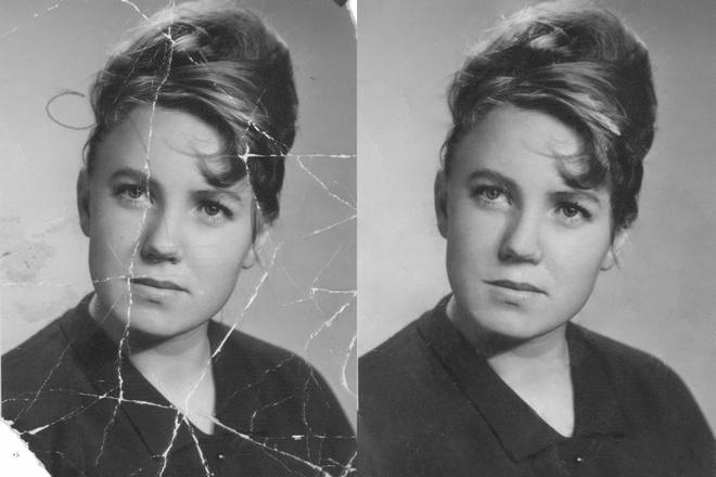 Реставрация старых фото, восстановление утраченных фрагментов 7 - kwork.ru