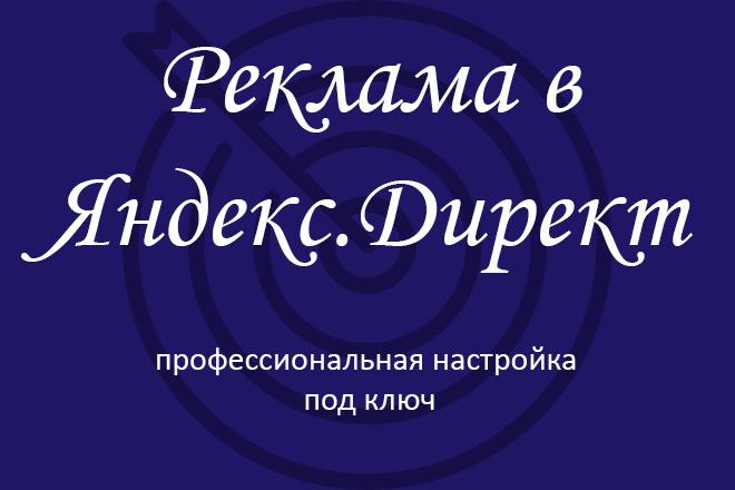 Яндекс. Директ. Профессиональная настройка рекламы под ключ 1 - kwork.ru