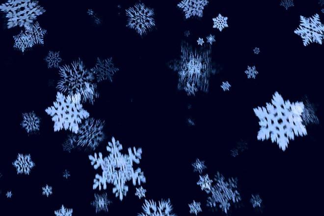 Падающие снежинки на сайте 1 - kwork.ru