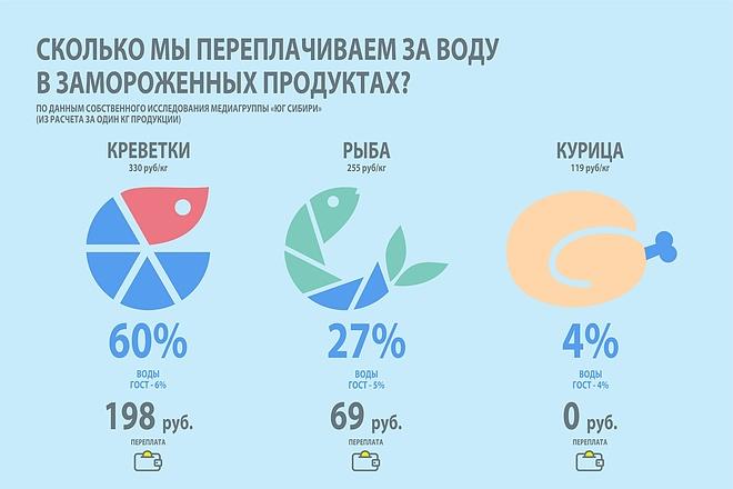 Красивая инфографика, которую поймёт ваша целевая аудитория 9 - kwork.ru