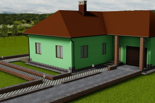 AutoCAD, 3D моделирование, визуализация 4 - kwork.ru
