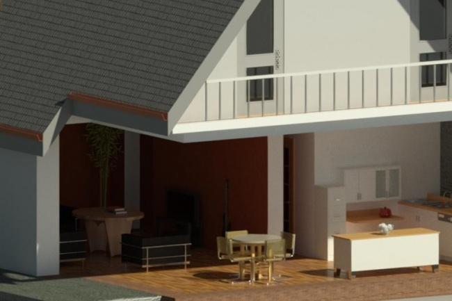 AutoCAD, 3D моделирование, визуализация 1 - kwork.ru