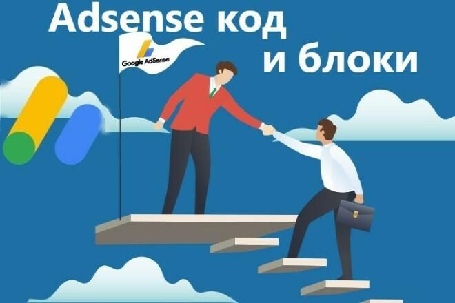 Размещение блоков с CTR 6%+ и установка кода Adsense и доп. советы 1 - kwork.ru