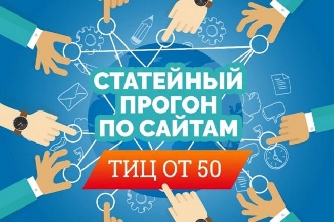 Статейное продвижение. Размещение статей 1 - kwork.ru