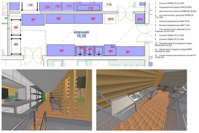 Чертежи + 3D визуализация 65 - kwork.ru