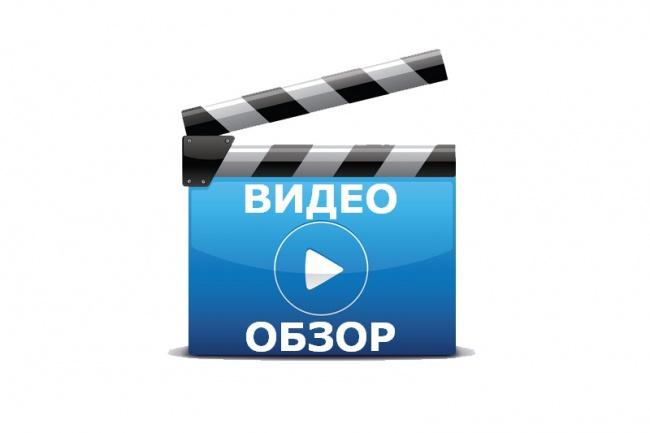 Видеообзор сайта или любого материала 1 - kwork.ru