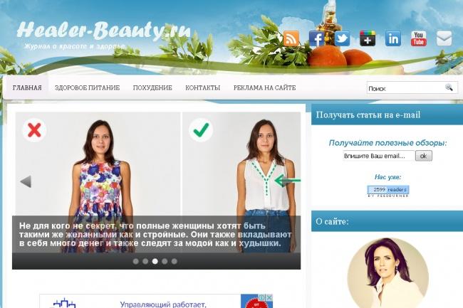 Размещу вечную ссылку в статье на трастовом женском сайте 1 - kwork.ru