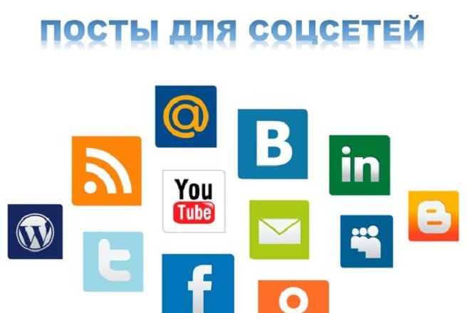 Посты для социальных сетей 1 - kwork.ru