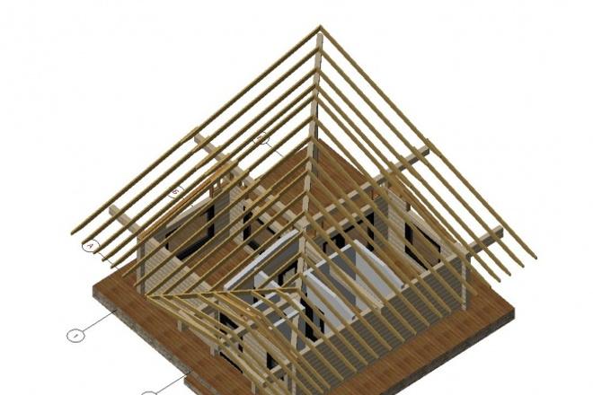 Проектирование деревянных конструкций 6 - kwork.ru