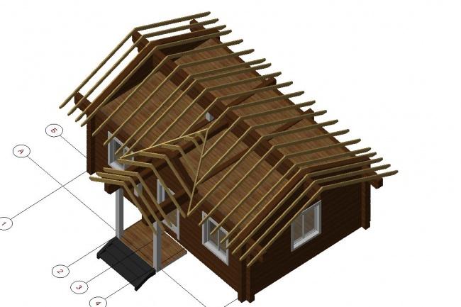 Проектирование деревянных конструкций 4 - kwork.ru